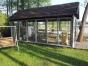 Balkonu stiklinimas berememis ir reminemis aliuminio konstrukcijomis