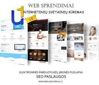 Internetinės svetainės, elektroninės parduotuvės